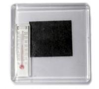 Акриловый магнит 65х65 с термометром