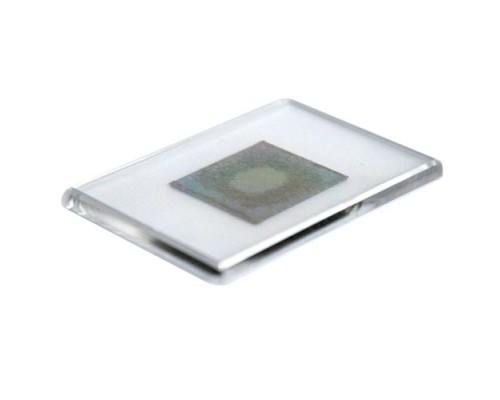 Акриловый магнит 55х80 с серебром