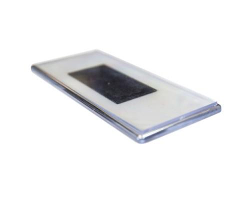 Акриловый магнит 133х60 с серебром