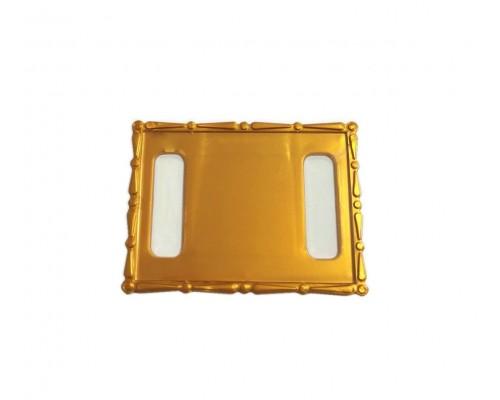 Акриловый магнит  110х80 бронза