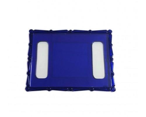 Акриловый магнит  110х80 синий