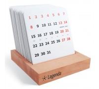Календарь на деревянной подставке Рабочий день