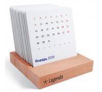 Деревянный календарь Английский стиль