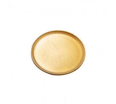 Акриловый магнит, тарелка бронза