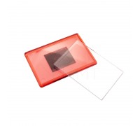 Акриловый магнит 55х80 (Красный)