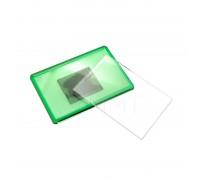 Акриловый магнит 55х80 (Зеленый)