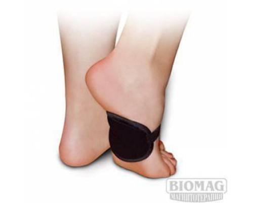 Повязка медицинская с твердыми магнитами для поддержки стопы
