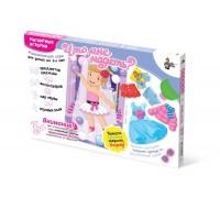 Игра «Одень куклу», вариант без магнитной доски