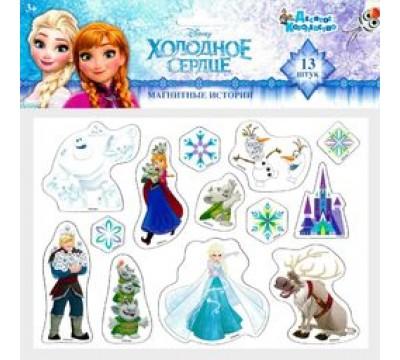 Магниты «Холодное сердце» с героями мультфильма Disney (13 шт.)