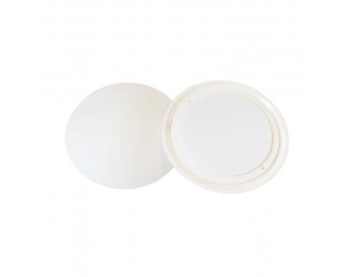Стопор дверной самоклеящийся, настенный ограничитель (антиударная накладка) 1,5х6см, цвет белый, упаковка 8шт.