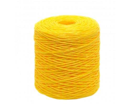 Шпагат крепежный 1500 м, Полипропилен, желтый