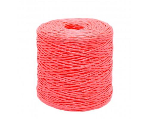 Шпагат крепежный 1500 м, Полипропилен, красный