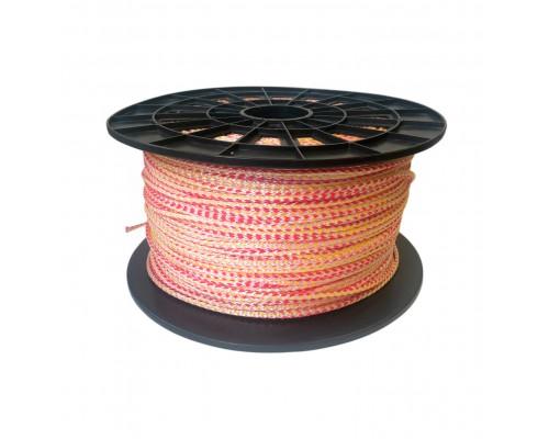 Веревка-шнур, толщина 6 мм, 50 м.