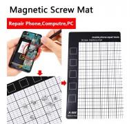 Магнитный коврик для ремонта телефонов