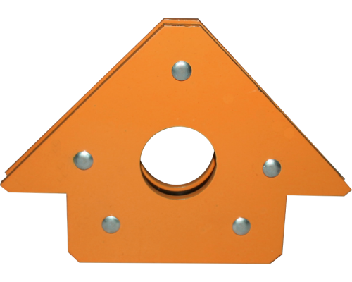 Магнитный уголок для сварки МФ 301 (оранжевый)