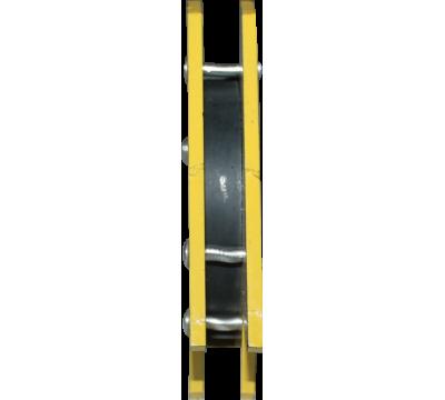 Магнитный уголок для сварки МФ 302 (желтый)