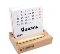 Настольный деревянный календарь