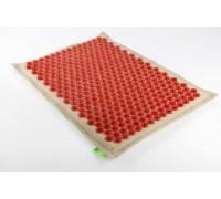 Аппликатор Кузнецова 41x60 см красный с магнитными вставками, мягкая подложка 3 см