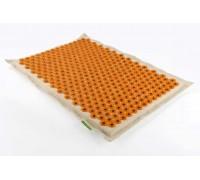 Аппликатор Кузнецова 41x60 см желтый с магнитными вставками, мягкая подложка 3 см