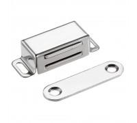 Мебельный магнит 32х15 мм, металл