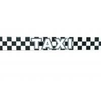 """Магнитная наклейка """"Молдинг 6 см Такси"""""""
