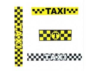 Наклейки для Такси
