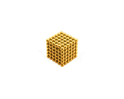 Магнитные шарики НеоКуб, золото