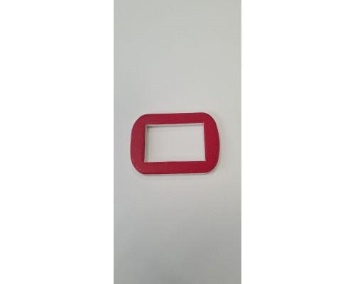 Календарные курсоры прямоугольные, магнитные красные, упаковка 50 шт.