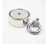Поисковый двухсторонний магнит F200*2 (215 кг)