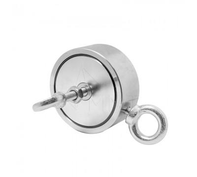 Поисковый двухсторонний магнит МП-300/2 (315 кг, Россия)