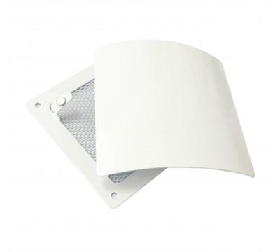 Вентиляционная решетка РД 140 (белый)