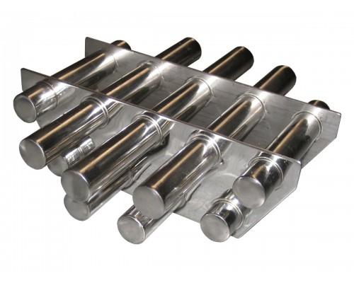 Двухрядная магнитная решетка D300х25