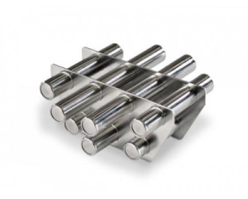 Двухрядная магнитная решетка D 250х22