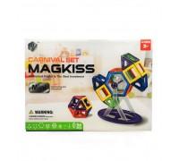 Магнитный конструктор MagKiss MINI, 56 деталей