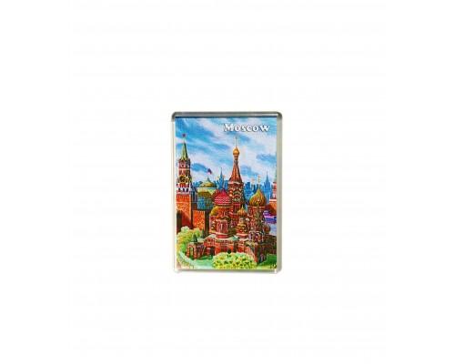 Акриловый магнит 55*80 - Москва