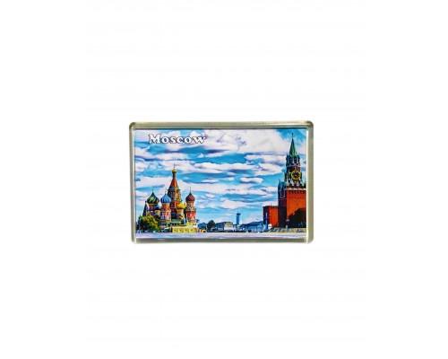 Акриловый магнит 105*70 - Москва