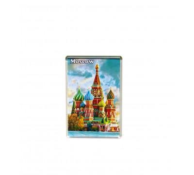 Акриловый магнит 105*70 - Собор Василия Блаженного