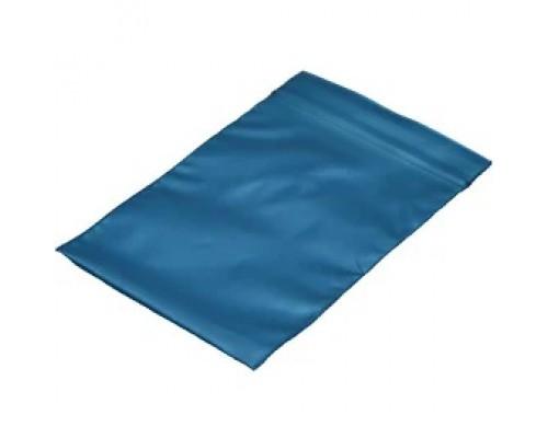 Пакет Zip Lock, синий металлик, 6х7 см, 100 мкм 50 шт
