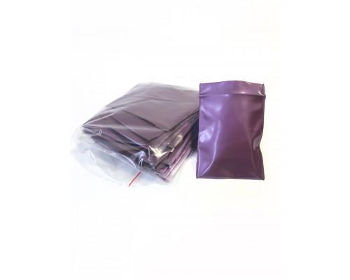 Пакет Zip Lock, вишневый металлик, 6х7 мм, 100 мкм 50 шт