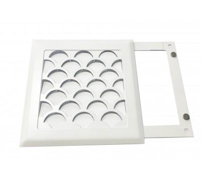 Вентиляционная решетка РП 150 (чешуя)