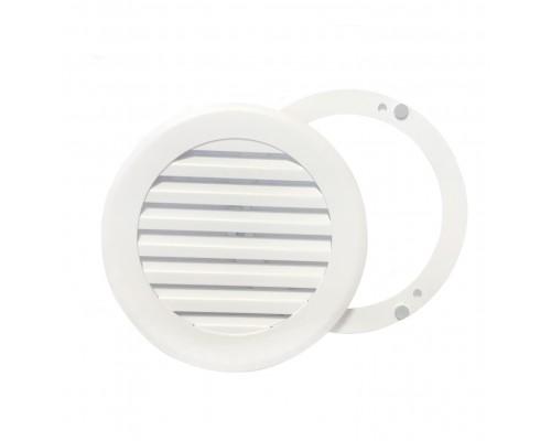 Вентиляционная решетка на магнитах КП 100 Жалюзи, цвет белый
