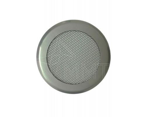 Вентиляционная решетка на магнитах КП 100 Сетка, цвет хром