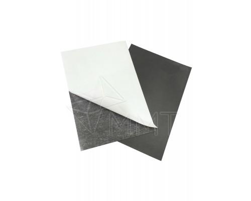 Магнитная наклейка с клеем А4, толщина 0,4 мм