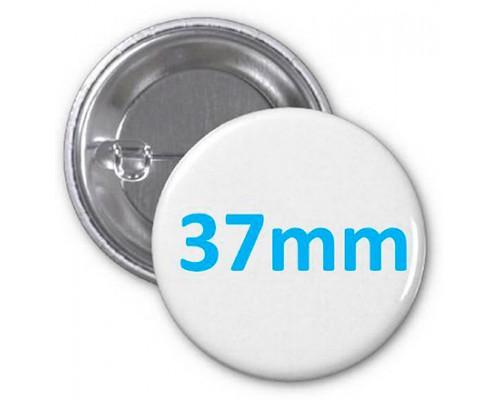 Заготовка для значка металл/булавка 37 мм, упаковка 200 штук