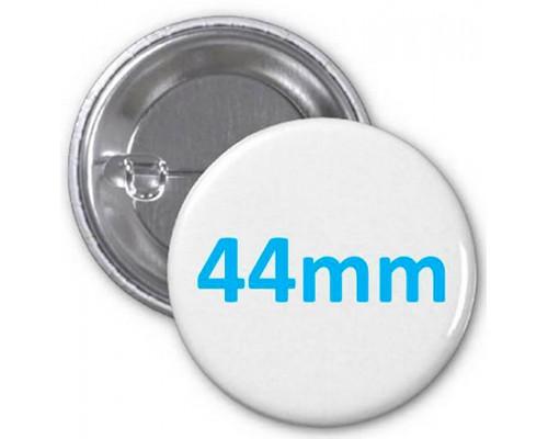 Заготовка для значка металл/булавка 44 мм, упаковка 200 штук